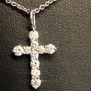 Jewelry - Diamond Cross.